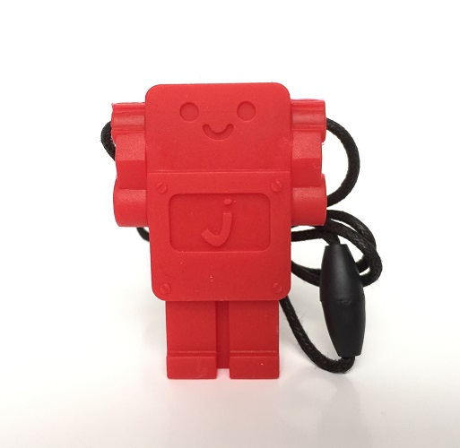 Jellystone robot rood