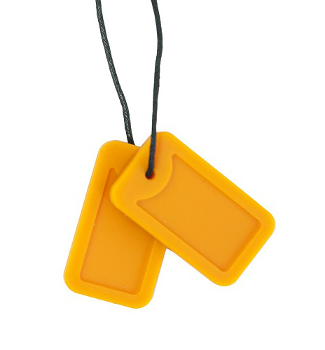 Chewigem Dog Tags Oranje
