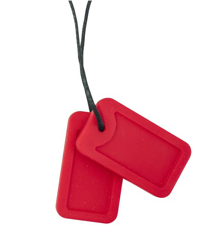 Chewigem Dog Tags Rood