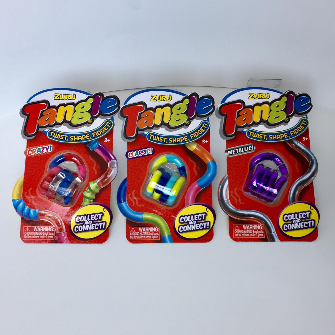 Tangle 3-pack combi
